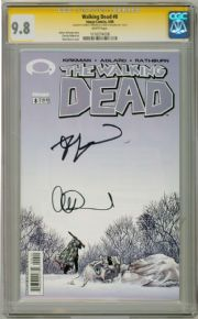 Walking Dead  #8 CGC 9.8  Signature Series Signed  x2 Robert Kirkman Adlard comic